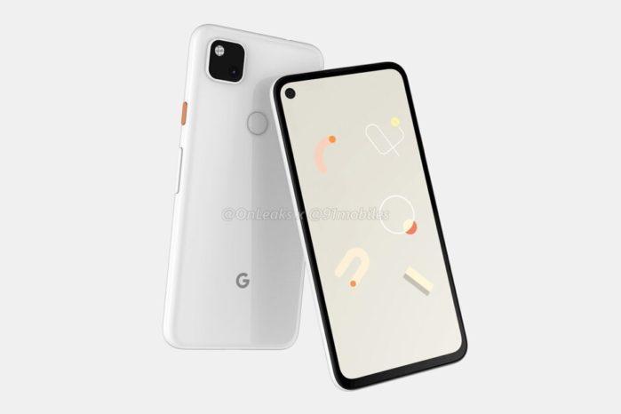 Pixel 4a design 1