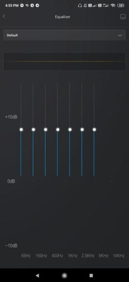 MIUI 11 equalizzatore MISound 2