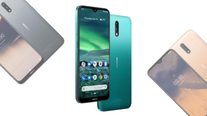 Nokia 2.3 ufficiale caratteristiche e prezzo