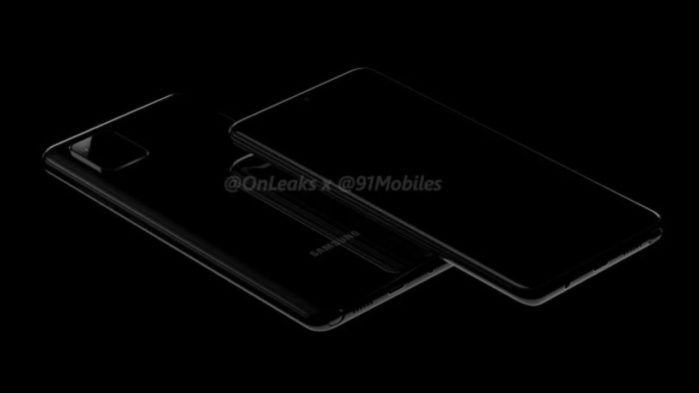 Galaxy Note 10 Lite render 3d anteprima