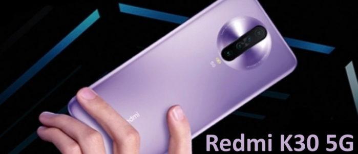 Redmi K30 5G immagine ufficiale pubblicitaria