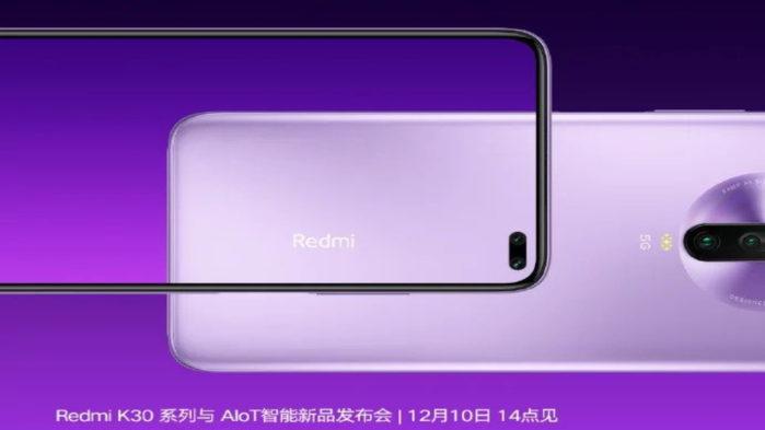 Redmi K30 processore e fotocamera