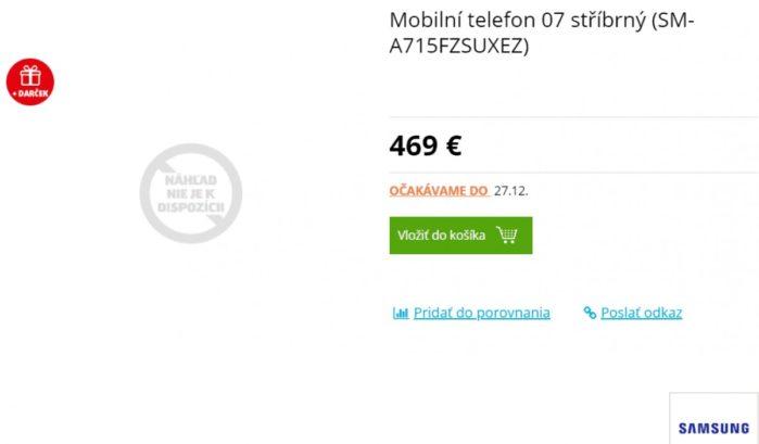 Prezzo Galaxy A71