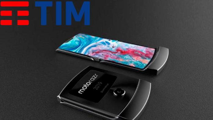 TIM eSIM Motorola Razr 2019