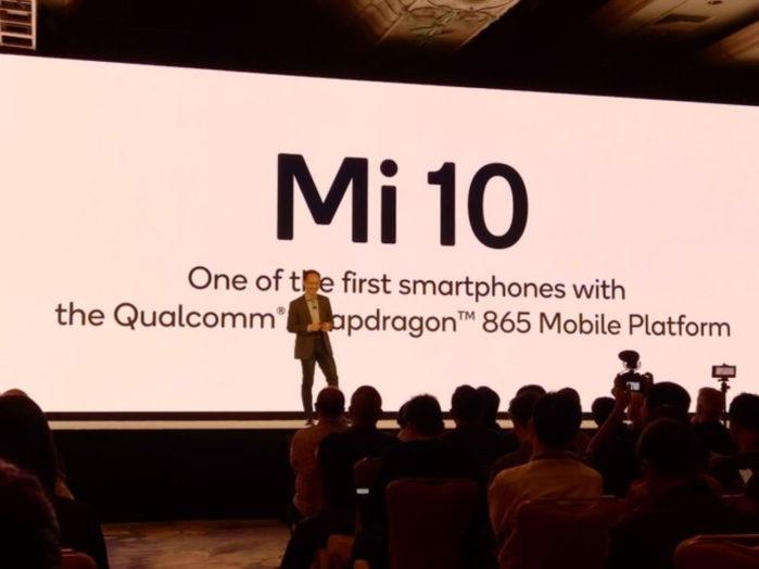 Xiaomi Mi 10 5G con Snapdragon 865 per il 2020 confermato