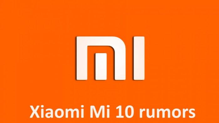 Xiaomi Mi 10 rumors: ricarica batteria super rapida