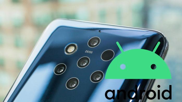 Nokia 9 Pureview aggiornamento Android 10 iniziato