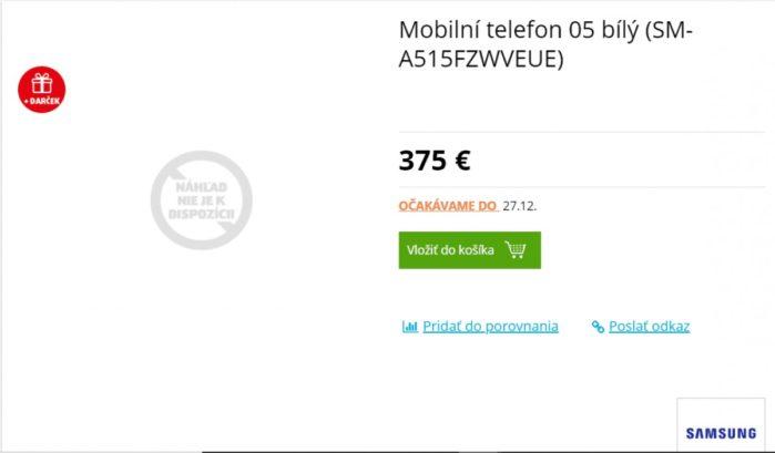 Prezzo Galaxy A51