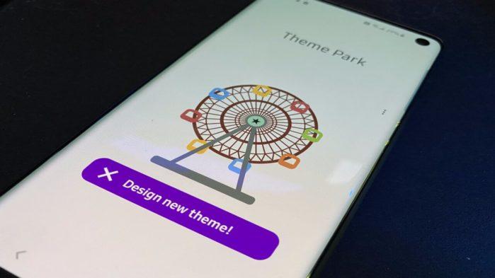 Samsung Theme Park App per personalizzare One Ui