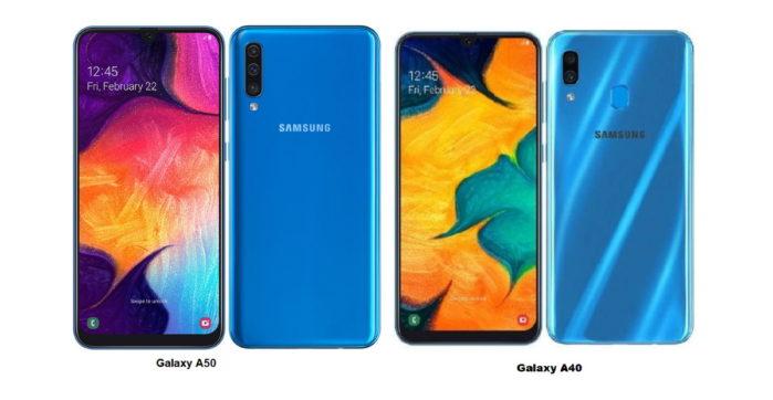 Galaxy A50 e Galaxy A40 Android 10: Samsung al lavoro