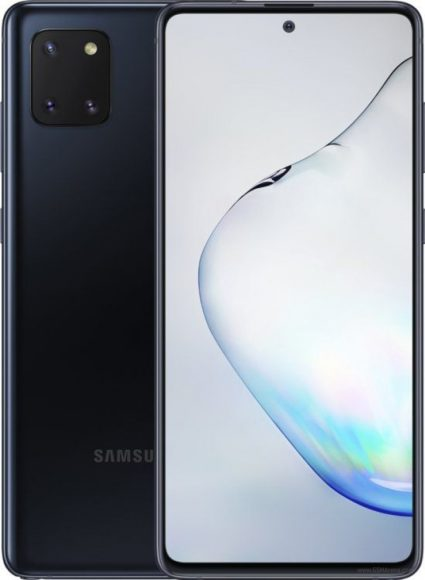 Galaxy Note 10 Lite nero