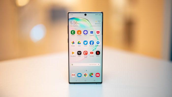Galaxy Note 10 Plus nuovo aggiornamento firmware gennaio 2020