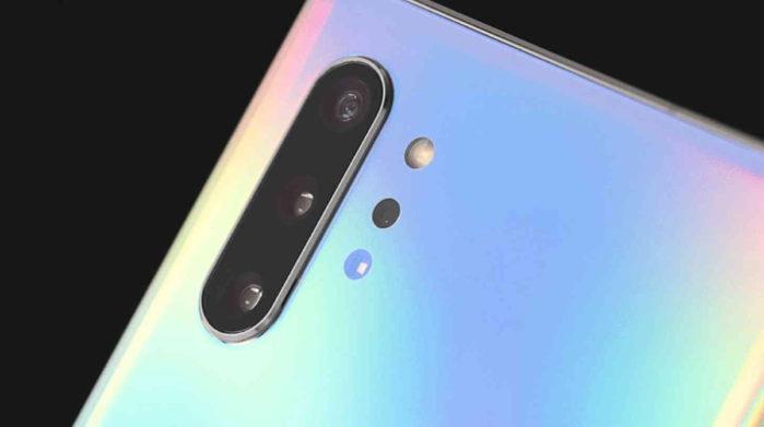 Galaxy Note 10 Plus scansione 3D persona migliorata
