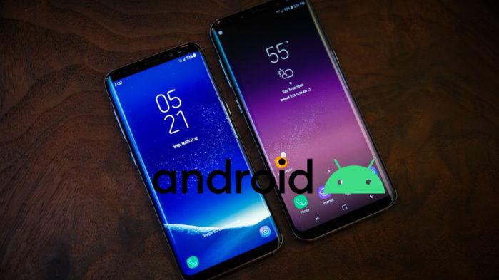Galaxy S9 e S9 Plus Android 10 finale