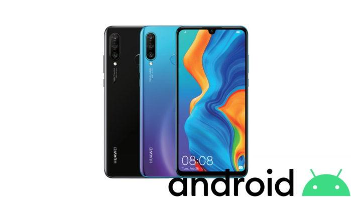 Huawei P30 Lite android 10 e EMUI 10