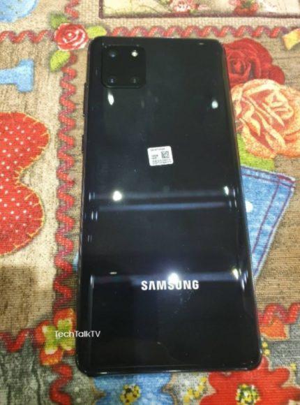 Galaxy Note 10 Lite immagini posteriore