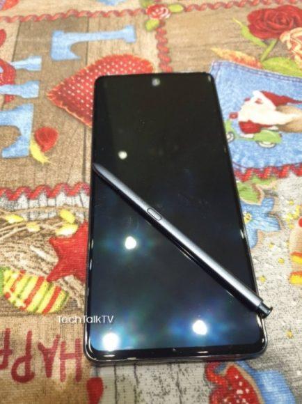 Galaxy Note 10 Lite immagini S pen 1