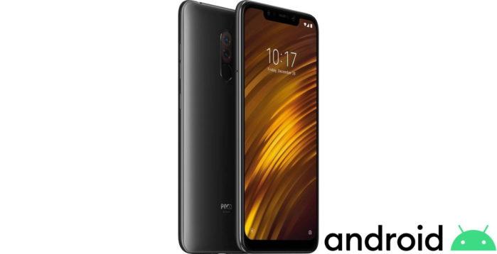 PocoPhone F1 si aggiorna ad Android 10