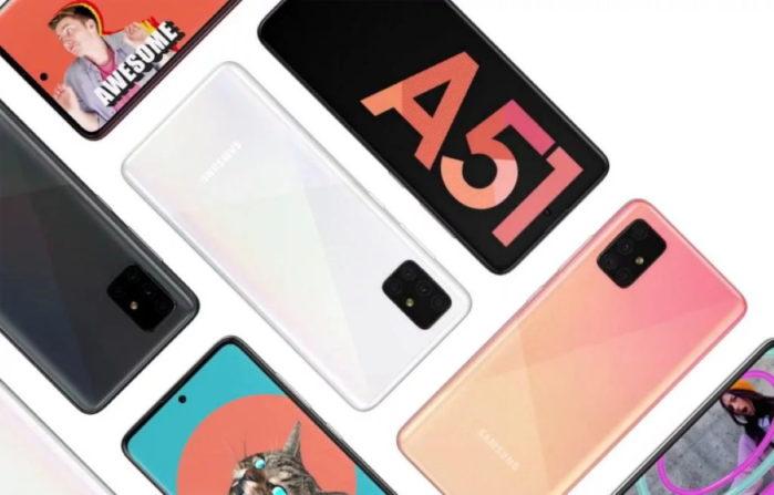 Samsung Galaxy A51 con modem 5G