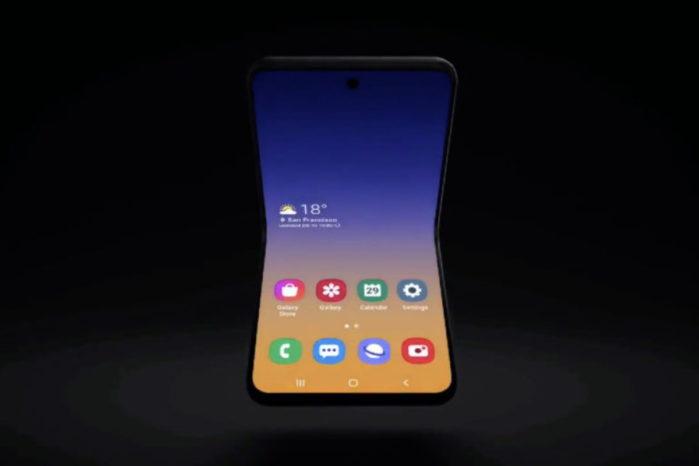 Samsung Galaxy Fold 2 con Snapdragon 855
