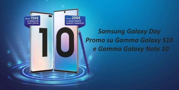 Samsung Galaxy S10 e Note 10 promo Galaxy Day