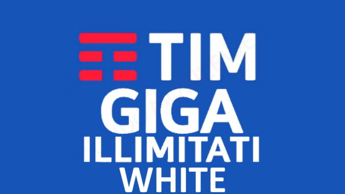 TIM Giga Illimitati White