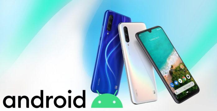 Xiaomi Mi A3 aggiornamento android 10 data