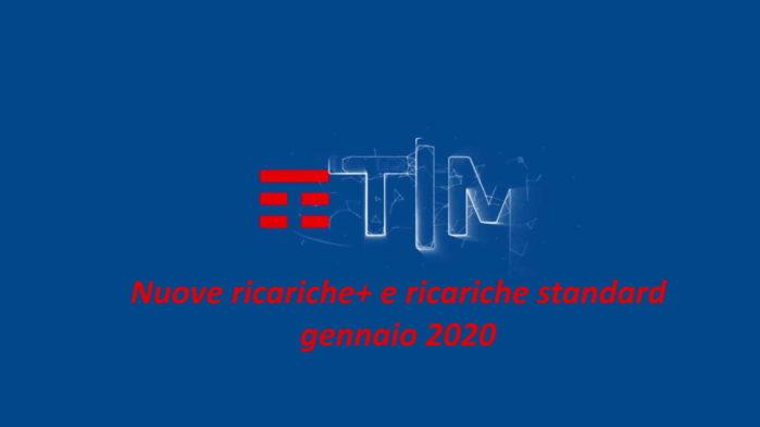 tim ricarche gennaio 2020