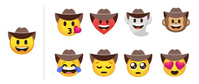 Emoji combinazione Gboard