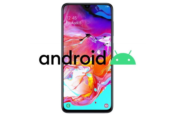 Galaxy A70 riceve Android 10 ma non in Italia