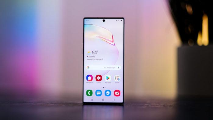 Galaxy Note 10 Plus nuovo aggiornamento febbraio 2020
