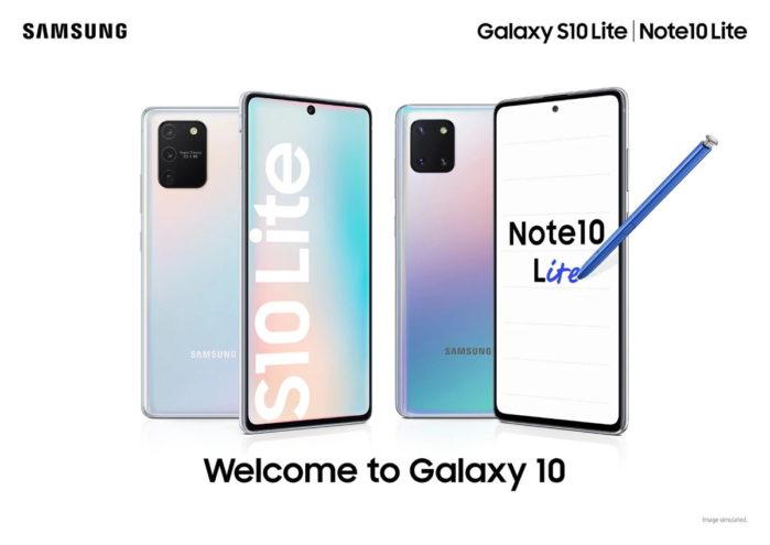 Galaxy S10 Lite Note 10 Lite, Galaxy A71 politica aggiornamenti