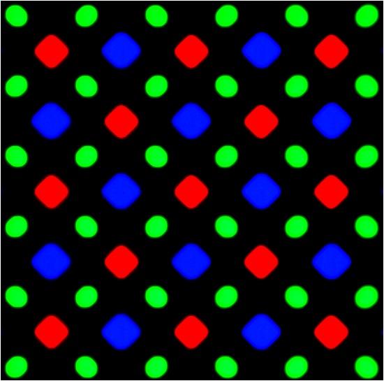 Disposizione dei sub-pixel PenTile