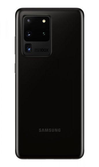 Galaxy S20 Ultra posteriore