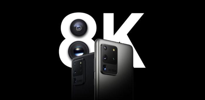 Galaxy S20 registrazione video 8K i dettagli