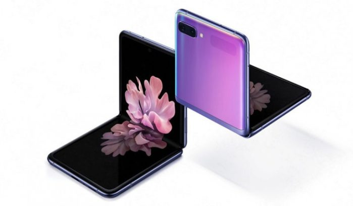 Galaxy Z Flip design a conchiglia