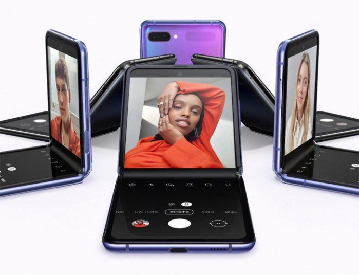 Galaxy Z Flip video chiamata