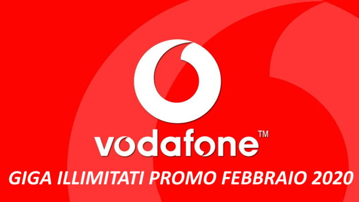 Vodafone Giga Illimitati a febbraio 2020