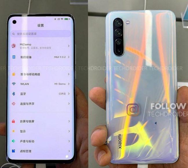 Xiaomi MI 10 con MIUI 11
