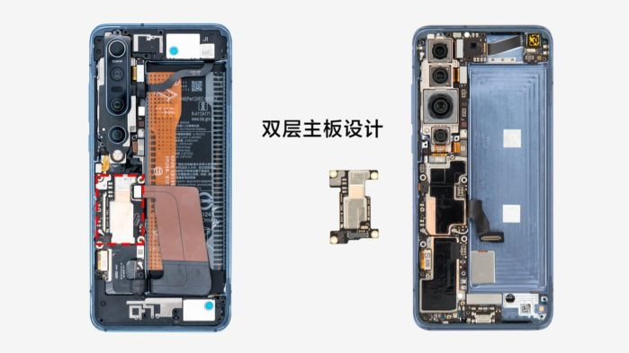 Xiaomi Mi 10 Pro dissassemblaggio: le principali componenti interne in video