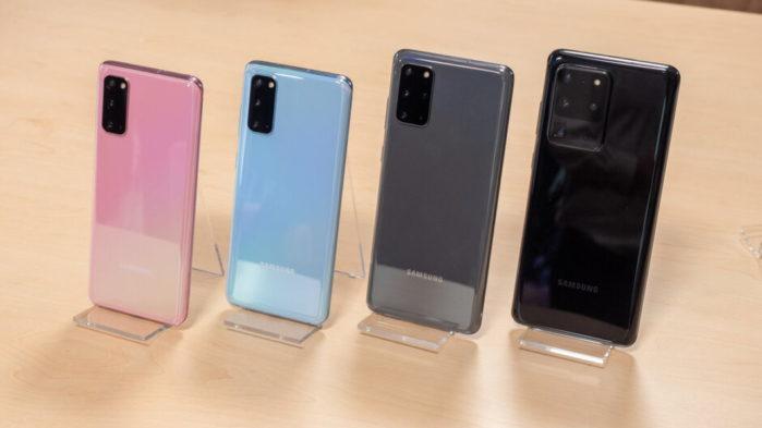 Galaxy S20 vendite in calo rispetto Galaxy S10
