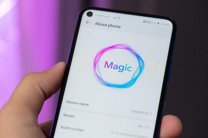 Honor 20 magic Ui 3.0 Android 10