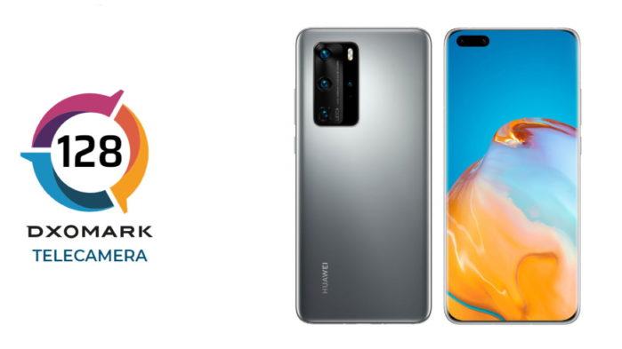 Huawei P40 Pro DxOMark 128 punti