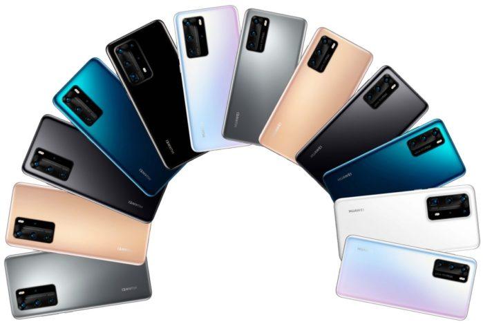 Huawei P40 colori design e multimedialità