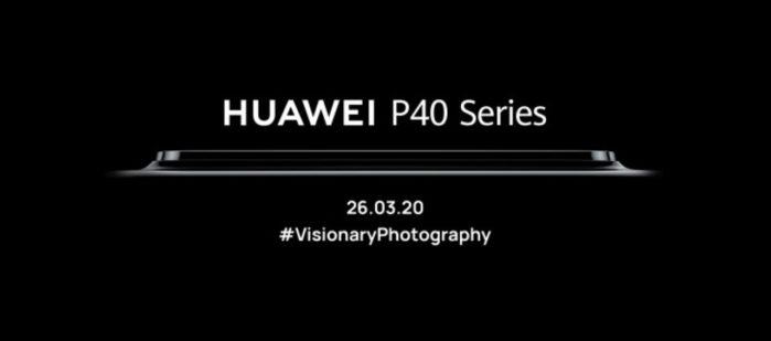 Huawei P40 data annuncio