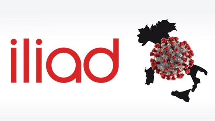 Iliad Solidarità digitale contro Coronavirus