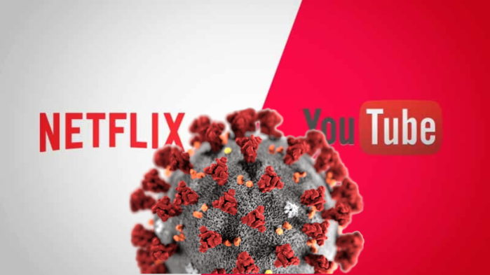 Netflix e Youtube emergenza CoronaVirus