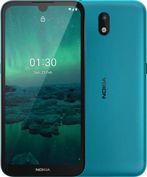Nokia 1.3 ciano