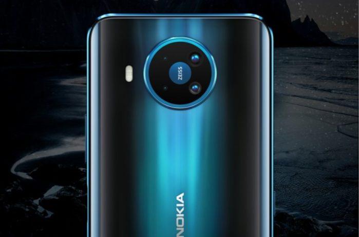 Nokia 8.3 5G camera posteriore