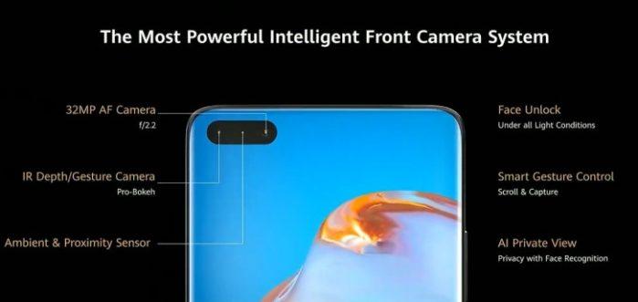 P40 Pro Selfie